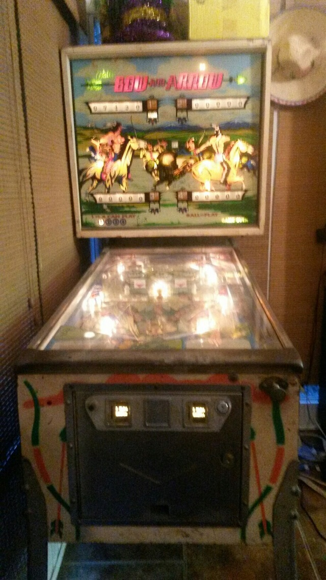 Bow and Arrow Pinball